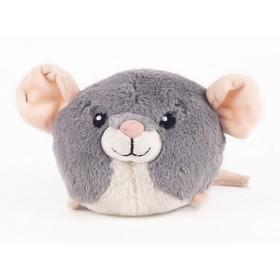 Мягкая игрушка Button Blue «Мышка», серая, 10 см