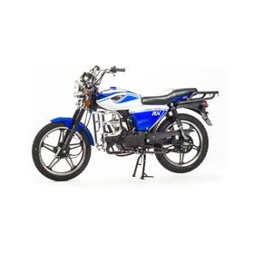Мопед MotoLand Альфа RX 11, 50см3, синий