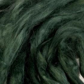 Гребенная лента 100% вискоза 50гр (0112, зеленый) Ош