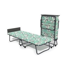 Кровать-тумба «Бриз» с матрасом, сетка, 1950 × 700 × 390 мм, цвет МИКС