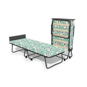Кровать-тумба «Бриз 2» с матрасом, 195 × 70 × 39 см, цвет МИКС