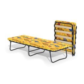 Кровать-тумба «Гармония 2» с матрасом, ламели, 1950 × 700 × 390 мм, цвет МИКС