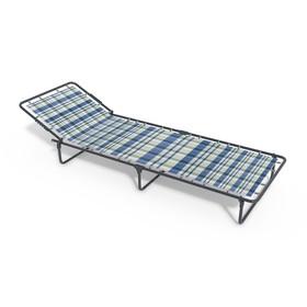 Раскладная кровать «Олеся» без матраса, ткань, 1960 × 660 × 240 мм, цвет МИКС Ош