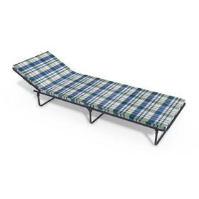 Раскладная кровать «Олеся П» с матрасом, ткань, 1960 × 660 × 240 мм, цвет МИКС Ош
