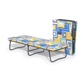 Раскладушка «Мечта 2» с матрасом, 195 × 70 × 39 см, цвет МИКС
