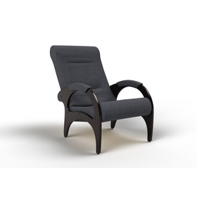Кресло для отдыха «Римини», 910 × 580 × 1000 мм, ткань, цвет графит