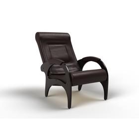 Кресло для отдыха «Римини», 910 × 580 × 1000 мм, экокожа, цвет венге