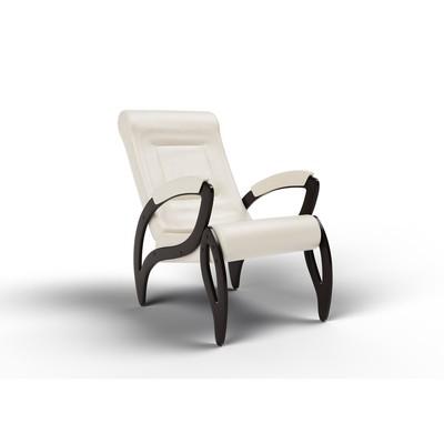 Кресло для отдыха «Зельден», 910 × 580 × 1000 мм, экокожа, цвет крем - Фото 1
