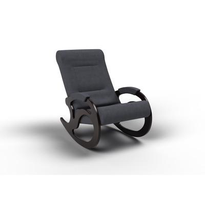 Кресло-качалка «Вилла», 1040 × 640 × 900 мм, ткань, цвет графит - Фото 1