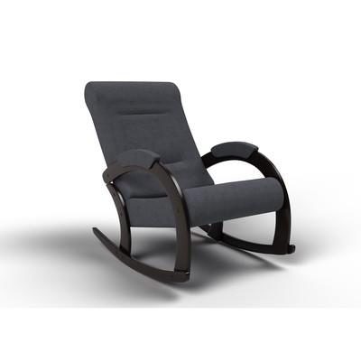 Кресло-качалка «Венето», 1112 × 630 × 880 мм, ткань, цвет графит - Фото 1