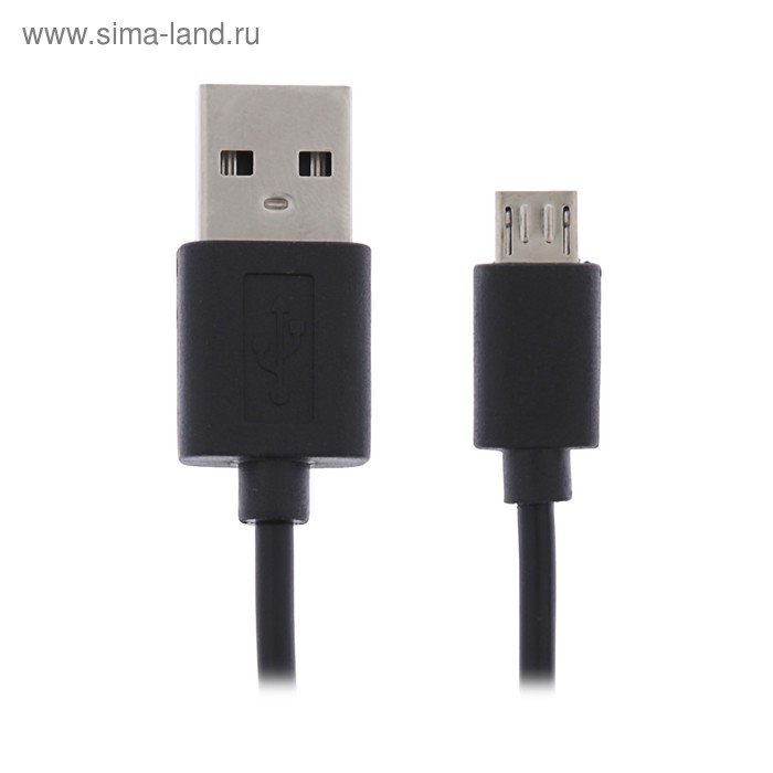 Кабель Maverick, micro USB - USB, 1 А, 1 м, белый