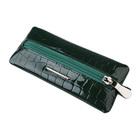 Ключница, 15 х1 х 7 см, цвет зеленый крокодил, серия Nice