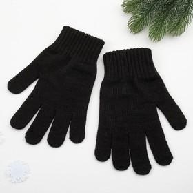 Перчатки мужские арт 101 цвет черный, р-р 22 Ош