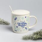 Набор подарочный «С Рождеством Христовым!», 3 предмета: кружка, ложка, крышка - Фото 4