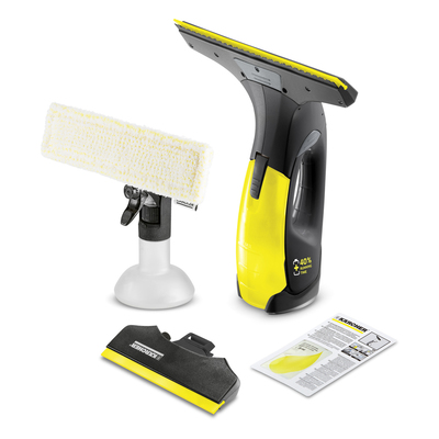 Стеклоочиститель Karcher WV 2 Premium, 100 мл, работа 35 мин, 105 м2 = 35 окон, 280 + 170 мм