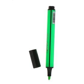 Маркер-текстовыделитель 1-5 мм Beifa, трёхгранный, зелёный