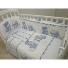 Детское постельное бельё «Мишки и зайки», 112х147, 100х150, 40х60см