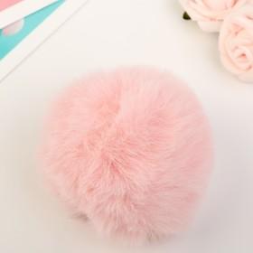 Помпон искусственный мех 'Нежно-розовый' d=7 см Ош