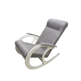 Кресло-качалка София 530х1000х850 рогожка/дуб млечный