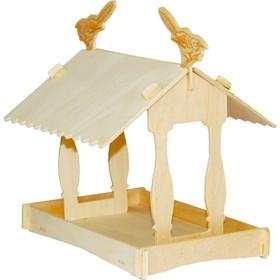 Сборная деревянная модель «Кормушка II»