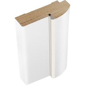 Дверная стойка эмаль радиус Белый, 2100х70х35 Ош