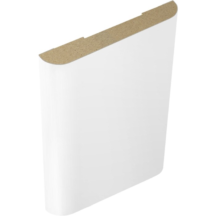 Наличник эмаль плоский Белый, 70х10х2140
