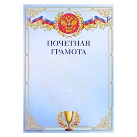Почетная грамота 'Символика РФ' кубок Ош