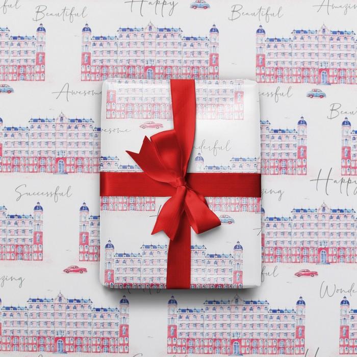 Бумага глянцевая Архитектура, 70 100 см