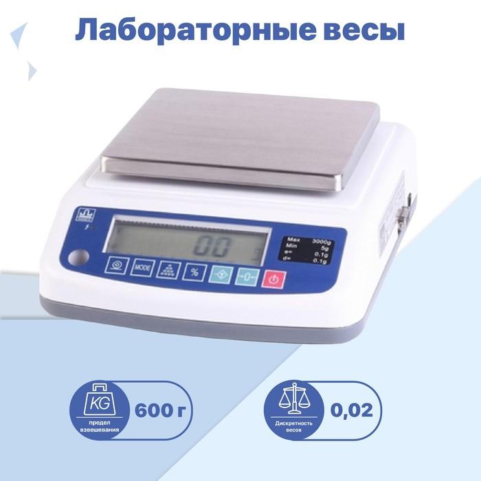 Весы лабораторные МАССА ВК-600.1