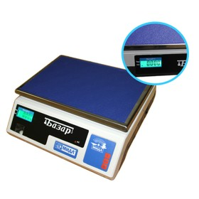 Весы фасовочные электронные МИДЛ МТ 6 ВЖА (1/2; 230x340) «Базар»