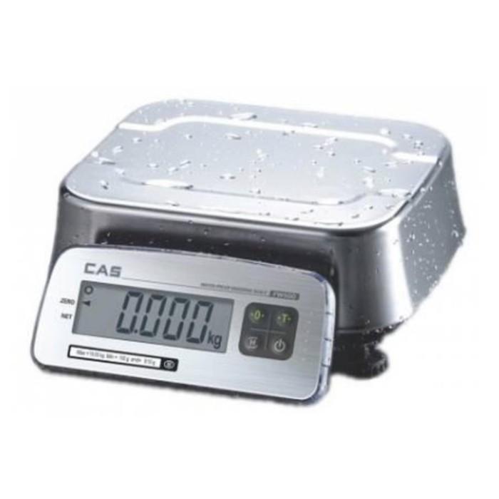 Весы порционные CAS FW500-C-06, влагозащищенные (LCD)