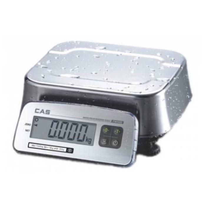 Весы порционные CAS FW500-C-30, влагозащищенные (LCD)