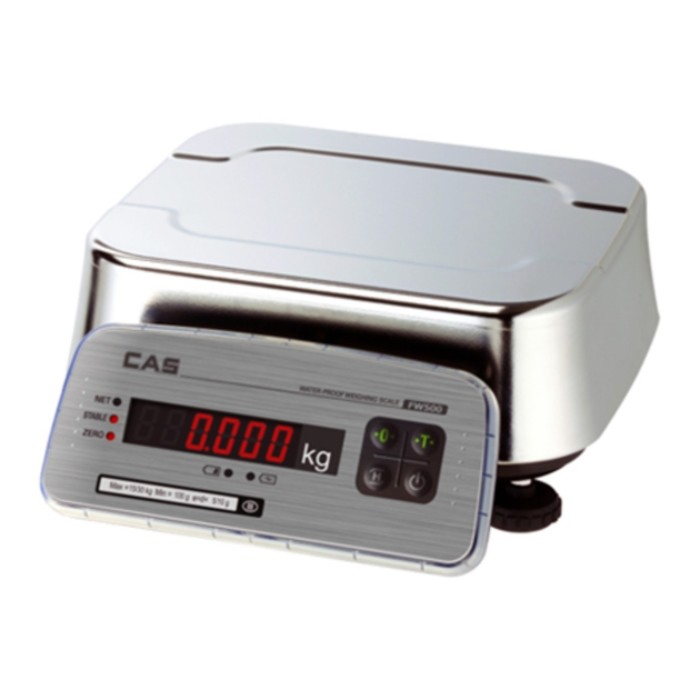 Весы порционные CAS FW500-E-06, влагозащищенные (LED)