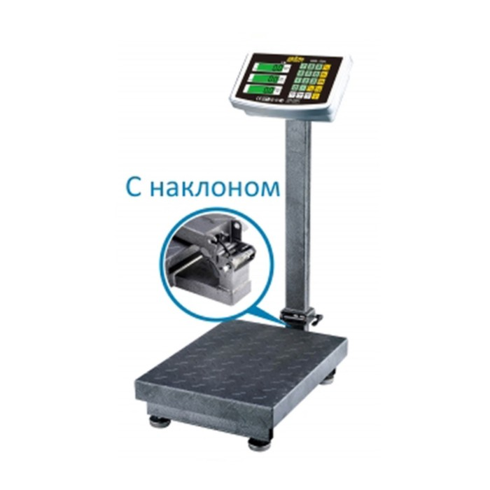 Весы напольные товарные SIBS-300N с индикатором из нержавеющей стали