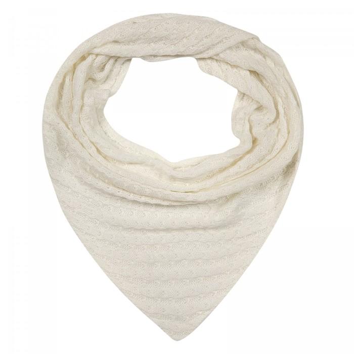 Шарф женский шерстяной SD370_B61 цвет белый, р-р 60х140
