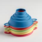 Воронка для банок 4 диаметра, верхний d=10 см, цвет МИКС - Фото 3