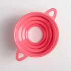 Воронка для банок 4 диаметра, верхний d=10 см, цвет МИКС - Фото 2