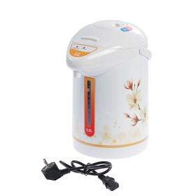 Термопот Irit IR-1404, 750 Вт, 3 л, бело-оранжевый Ош