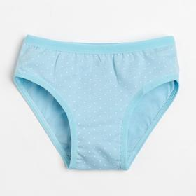 Трусы для девочки, цвет голубой, рост 134-140 см (8)