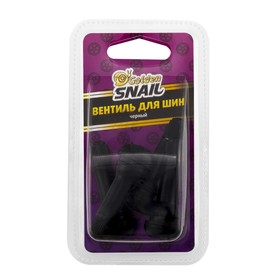 Вентиль для шин Golden Snail, черный Ош