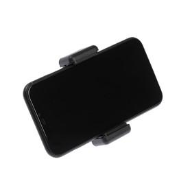 Крепление LuazON для телефона под штатив/монопод, ширина 8 см, чёрный Ош