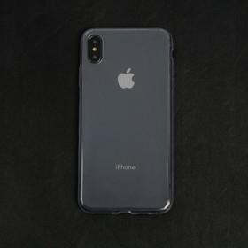 Чехол LuazON для телефона iPhone XS Max, силиконовый, тонкий, прозрачный Ош