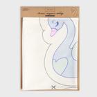 Подушка  «Лебедь», набор для шитья 21 х 34 см