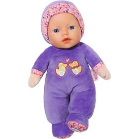 Мягконабивная куколка Бэби Борн, с погремушкой внутри, 26 см