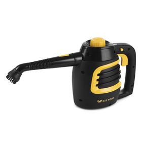 Пароочиститель Kitfort KT-930, 900 Вт, 0.18 л, нагрев 2-3 мин, чёрно-жёлтый Ош