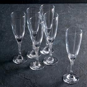 Набор бокалов для шампанского Twist, 150 мл, 6 шт