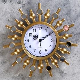 Часы настенные, серия: Интерьер, 'Авранш', 25х25 см, микс Ош