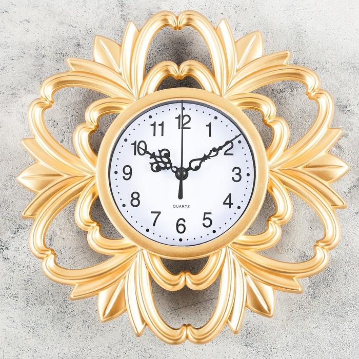 Часы настенные, серия Интерьер, Ануем, 25х25 см, микс