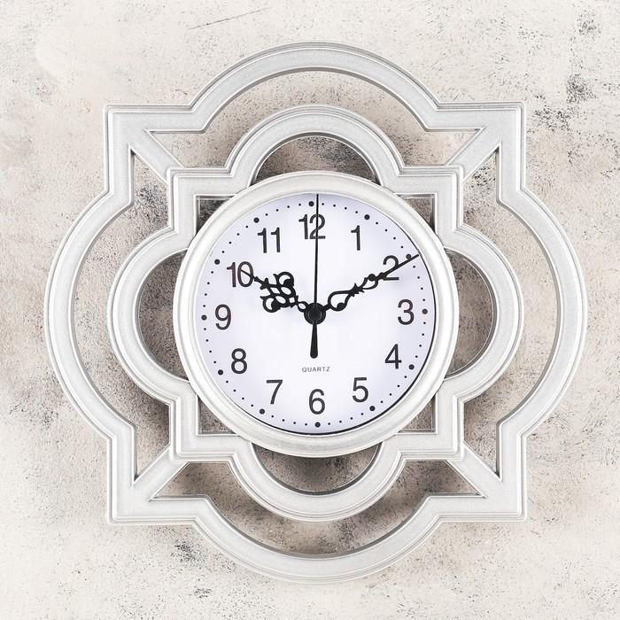 Часы настенные, серия Интерьер, Дайна, 25х25 см,