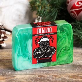 """Косметическое мыло для бани и сауны """"Настоящий мужчина!"""", 100 гр"""